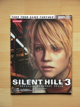 Silent Hill 3 Stategy Guide Book Lösungsbuch Survival Horror