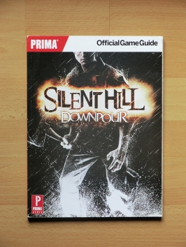 Silent Hill Downpour Stategy Guide Book Lösungsbuch Survival Horror