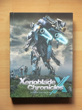 Xenoblade Chronicles Stategy Guide Book Lösungsbuch RPG