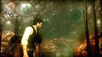The Evil Within PS4 Playstation 4 Survival Horror Eyeball watching